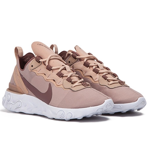 d4887b1899 New💘 NIKE particle beige React Element 55. M_5c76df4c34a4ef7099a4c747